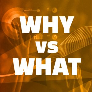 WHY IS MORE IMPORTANT THAN WHAT: RESEARCH & MEASUREMENT